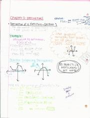Notes for Calculus BC (1st week)