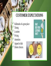Customers' Expectations.pptx