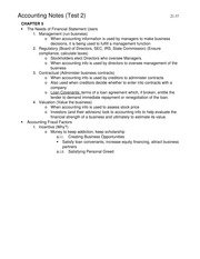 Accounting Notes (Test 2)