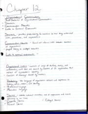 Communication203Chapter12Notes