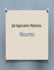 Chapter 15 Writing Job-Application Materials, Resumes.pptx
