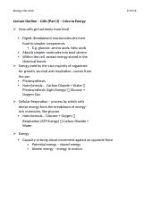 Chapter 3 Outline (Part 2) Intro to Energy.docx