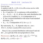 Lecture 16 on Probability and Statistics