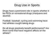 drugs in sports prezzy