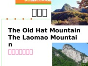 The Old Hat Mountain