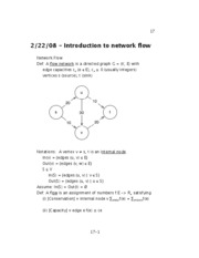 08 - Introduction to network flow