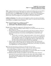 Assignment Sheet Comparative Rhetorical Analysis (2).docx