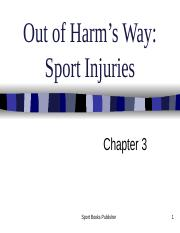 PPT KIN CH 3 Sports Injuries (1).ppt