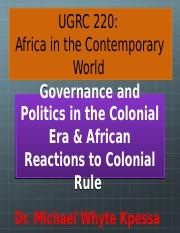 africa in contemporary