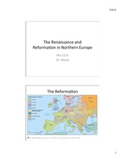Mu+2313+11+Renaissance+and+Reformation+in+northern+europe