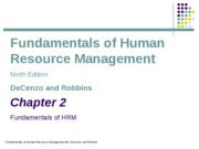 ch02_Fundamentals of HRM