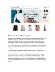 Global online fashion Retail Company (1).docx