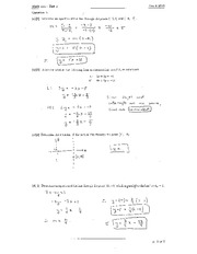 Math 111 Test 1 Solutions