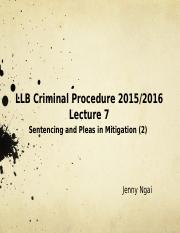 Lecture 7 Sentencing (2).pptx