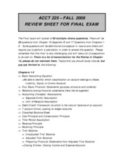 Review Sheet for Final Exam (1)