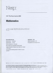 2009_Maths2U_TrialHSC_Neap