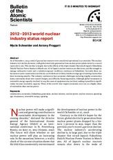 2012-2013 world nuclear industry status report