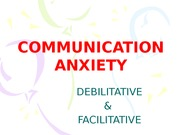 COMMUNICATION ANXIETYf14