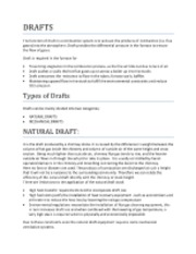 DRAFTS Final Report