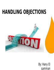 Handling.objections - 2016