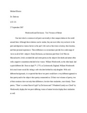 LCS Poetry Paper
