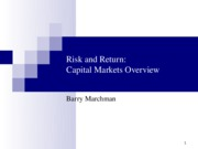 MGT+3062+-+Risk_Return+EfficientMarkets