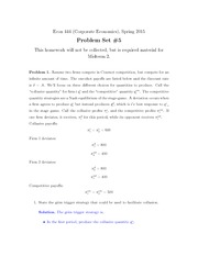 Econ 444 Homework 5 with Solution