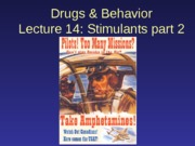 2013-10-04 Stimulants 2 (Amphetamines)