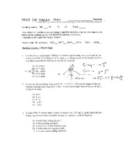 PHY053 F05 Exam2a Sol_add