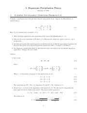 3. Degenerate Perturbation Theory.pdf