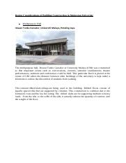 Design Considerations of Building Construction in Malaysian University.docx