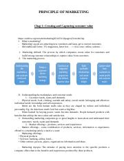 PRINCIPLE OF MARKETING - Reading book.docx