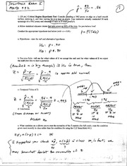 Exam I Solutions, Ma442,Spr04