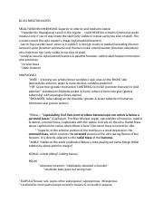 BI 231 #8 Skeleton assignment and Notes