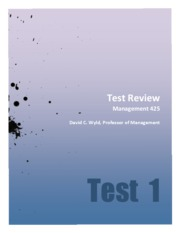 PDF-Review for Test 1-Management 425-Chapters 1-4