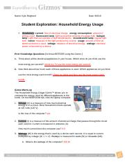 HouseholdEnergySE_ KR finished - Name Kyle Reighard Date ...