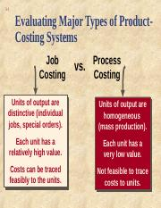 CH 4 job order costing