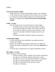 LAW 12 Rights and Law