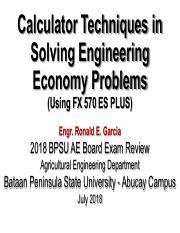 Engineering Economy Review (Calculator Techniques)_Lec 4.pdf