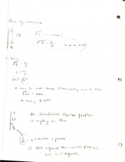 Proof By Contradiction Notes