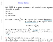 Math 104 Ch10 Infinite Series