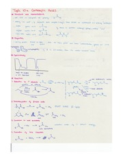 Notes on Carboxylic Acids