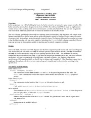 assignment3-fall11-specification v2