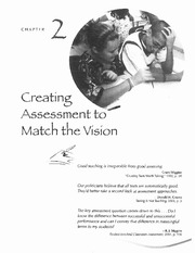 Spandel Ch. 2_Creating Asssessment to Match the Vision