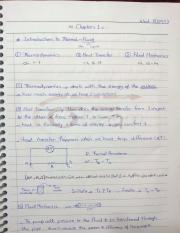 Thermal & Fluid Science - Ch. 1 + Ch. 2 - Notebook.Deema