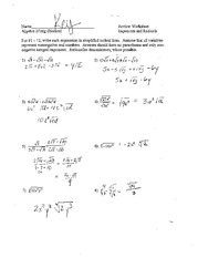 Exponents-and-Radicals-Review-Answers