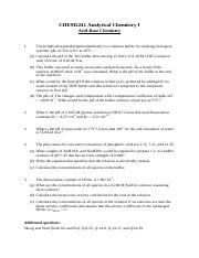 CHEM2241_assignment on acid and base_2013sem1