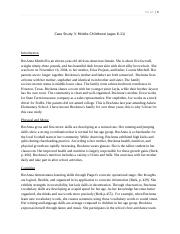 teca 1354 case study 3rd year uploaded by priya sharma teca 1354 mharper lake childobservationproject case study on observations of a child crojas genre analysis draft.