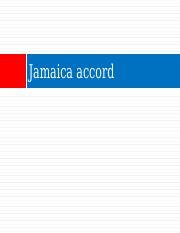 Jamaica accord
