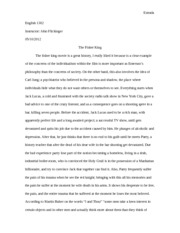 The Fisher King essay